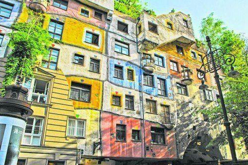 Das Kunst Haus Wien von Hundertwasser.