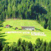 Lebensgrundlage Boden wird auch in Vorarlberg immer rarer