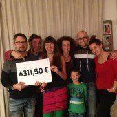 4311,50 Euro für eine Gesundheitsstation