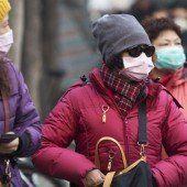 Smog gehört zum Alltag in chinesischen Städten
