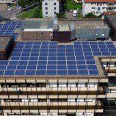 325 Solarmodule auf dem Raiffeisen-Dach