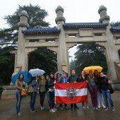 Spannende China-Reise für Dornbirner Schüler