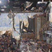 Haus in Dornbirn an Silvester abgebrannt