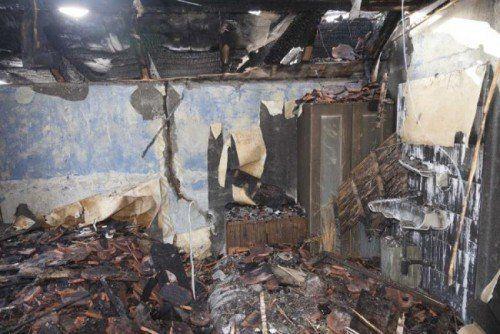 Die Wohnung wurde bei dem Feuer stark verwüstet, verletzt wurde aber niemand.  Foto: Mathis