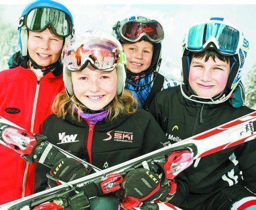 """Diese sportlichen Kids starten dynamisch und mit Optimimus ins neue Jahr. 100 Tipps und Eindrücke für 2015 in den """"Good News"""".  Foto: VN/Steurer"""