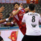 Handballer im Achtelfinale