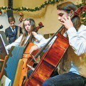 Junge Musiker begrüßten 2015