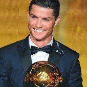 Cristiano Ronaldo erneut Weltfußballer des Jahres