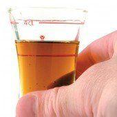 Ausnahme bestätigte Regel: Diesmal Schnaps statt Bier