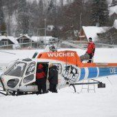 Wucher-Helikopter fliegen in geheimer 007-Mission