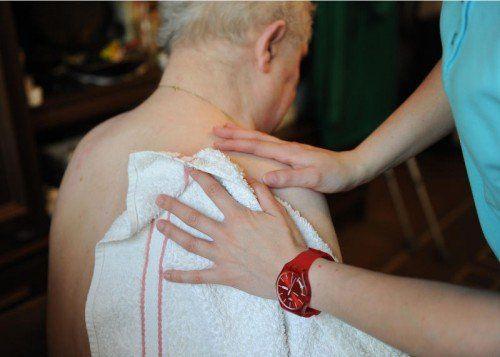 Ambulante Betreuung braucht eine Aufwertung.Foto: APA