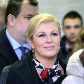 Kroatien: Oppositionskandidatin Grabar-Kitarovic wird Präsidentin