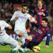 FC Barcelona mit starker Leistung