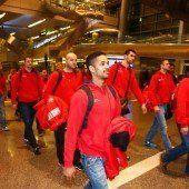 Österreichs Handballer in WM-Spielort Doha gelandet