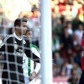 Rote Karte für Ronaldo bei Real-Zittersieg