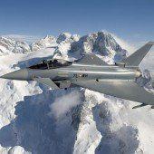 Daedalus 15: Eurofighter donnern über Vorarlberg