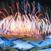 Handball-WM mit prächtigem Feuerwerk eröffnet