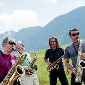 Vier der gefragtesten Saxofonisten im TaS