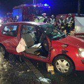Verkehrsunfall fordert drei Verletzte
