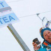 Das VN-Bild des Tages: Nette Tee-Tante