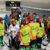 Das VN-Bild des Tages: Eishockey-Knirpse