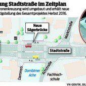 Auftakt zum Umbau der Kronen-Kreuzung