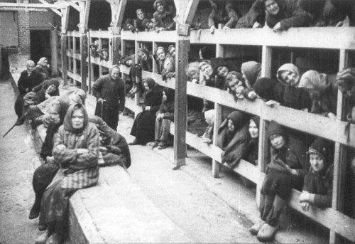 Den Rotarmisten bot sich 1945 ein erschütterndes Bild.
