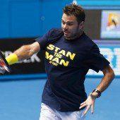 Wawrinka als Gejagter bei Australian Open