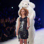 Anna Ermakowa als Model umjubelt