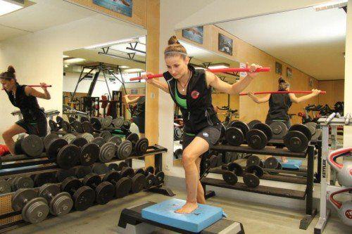 Hart hat Nadine Wallner für ihr Comeback gearbeitet, nun muss es die Freeriderin verschieben. Foto: VOL.at