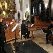 Ein Abenteuer auf drei Violinen