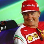 Kimi Räikkönen erstmals Papa