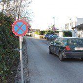 Parkverbot Am Stein sorgt für viel Unmut
