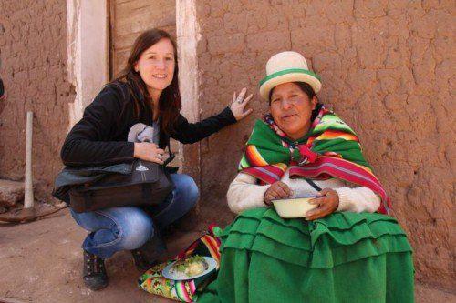 Irene Vögel besucht zweimal im Jahr Lateinamerika, um die Hilfsprojekte der Sternsingeraktion aktuell zu evaluieren. Foto: Privat