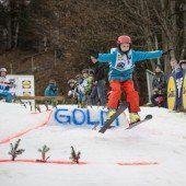 Mit Goldberger Skispringen