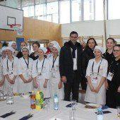 Jugend kocht für die Jugend auf