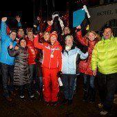 Liensberger strahlt: Da ist der Slalom gleich vergessen