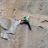 Kletterer bezwingen berüchtigte Steilwand