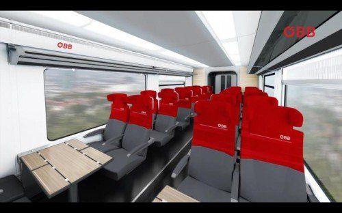 Komfortabler Cityjet soll 2018 kommen.  Foto: ÖBB