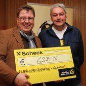Kicker spenden 6334 Euro für KPV Nenzing