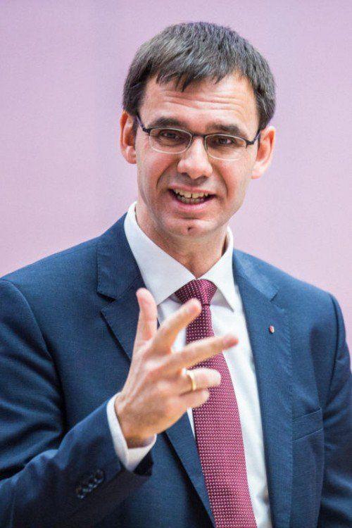 Landeshauptmann Wallner blickt in die Zukunft.  Foto: MK