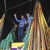 Mit dem Gasballon über den Pazifik: Weltrekord