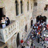 Eintritt für Blick auf Shakespeare-Balkon