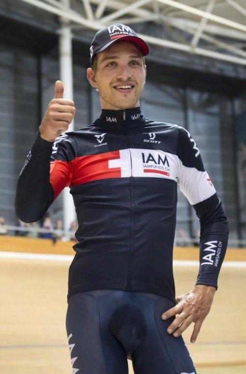 Matthias Brändle wurde Radsportler des Jahres. Foto: epa