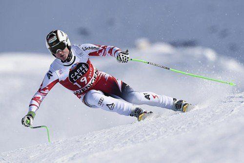 Mit dem Abfahrtssieg in Wengen hat der Österreicher Hannes Reichelt gezeigt, dass er auch in der Abfahrt zu den Medaillenanwärtern zählt. Foto: ap
