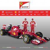 Vettels sexy rote Göttin wurde enthüllt