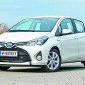 Toyota-Modelle mit nur 121 Gramm CO2-Ausstoß