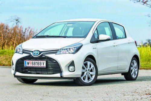 Mit Modellen wie dem Toyota Yaris Hybrid senkt der japanische Hersteller den CO2-Ausstoß seiner Flotte in Österreich. Foto: vn/Steurer