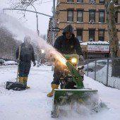 Viel Schnee in den USA, aber lange kein Chaos