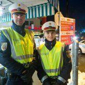 Die freundlichen Jung-Polizisten